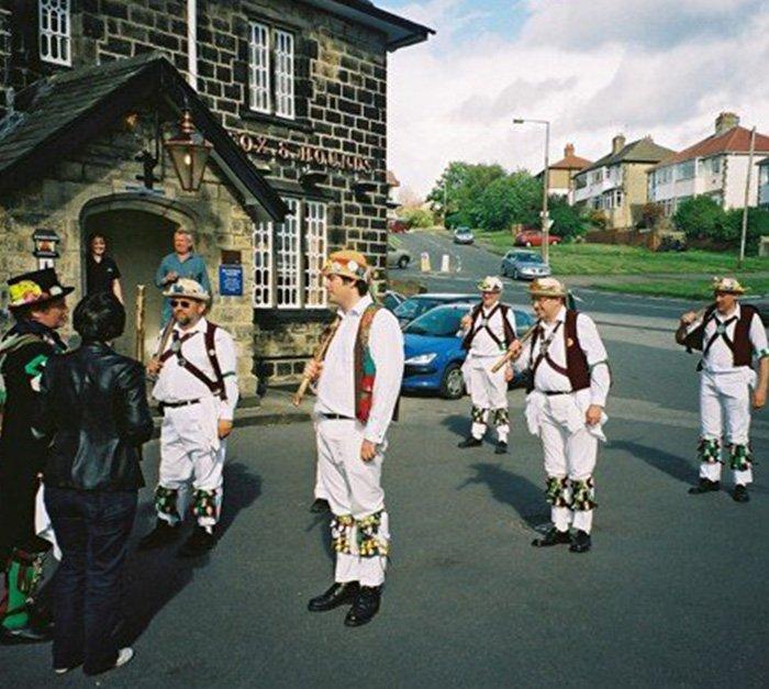 English Morris dancing