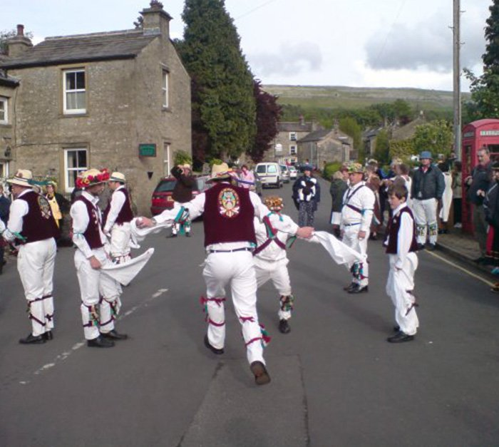Morris dance teams